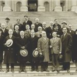 "A group portrait of members of the ""wet"" bloc in Congress, ca. 1921–1927"