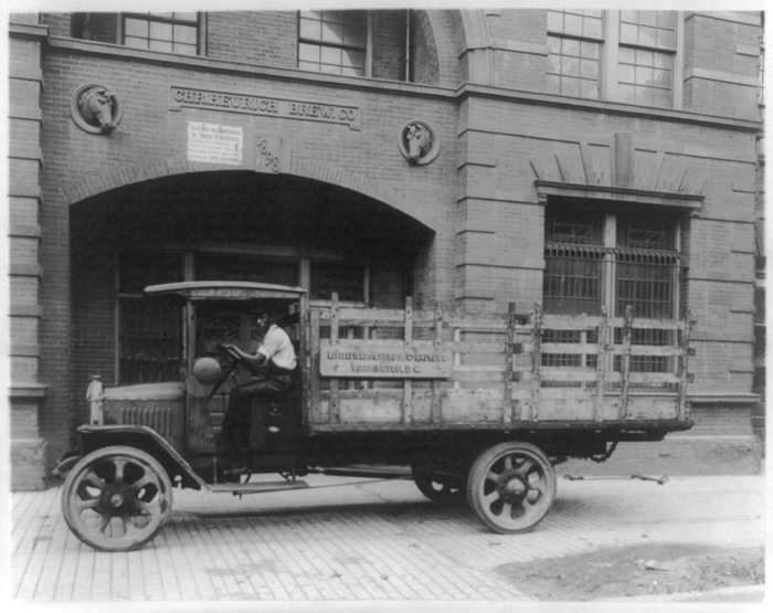 Brewery Delivery Truck