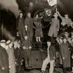 Schlitz Train Celebrating End of Prohibition, 1933