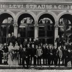 Levi Strauss & Co. headquarters on Battery Street, 1880s