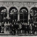 Levi Strauss & Co. headquarters on Battery Street, 1880s