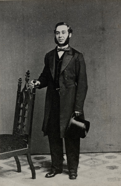Levi Strauss in San Francisco, ca. 1860s.