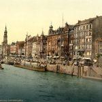 Dovenfleeth, Hamburg, Germany, ca. 1900