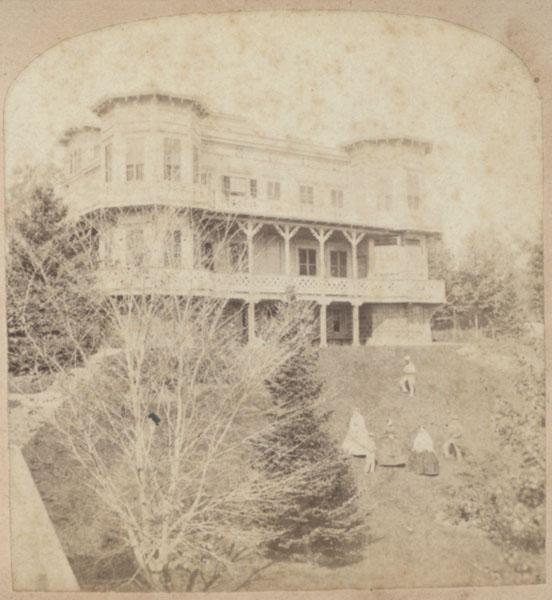 Hecksher House, Orange, New Jersey, ca. 1860