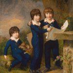 The Children of Martin Anton Heckscher, 1805