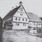 House where Ottmar Mergenthaler was born in Hachtel, Kingdom of Württemberg