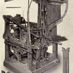 Ottmar Mergenthaler's New York Tribune machine of 1886