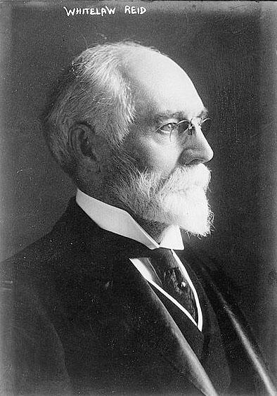 New York Tribune publisher Whitelaw Reid, n.d.