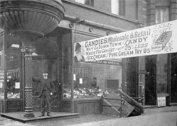 Brach Palace of Sweets, ca. 1905