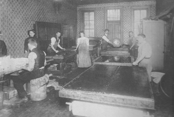 Brach candymaking, ca. 1904