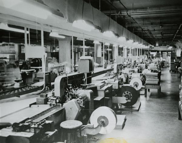 Brach's wrapping machines, ca. 1947