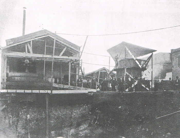 Expanding the Heurich Brewery, 1877