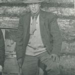 Harry Wollenberg in Mexico, 1908