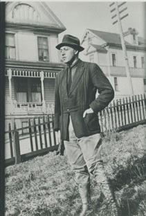 Harry Wollenberg in Juneau, Alaska, ca. 1913