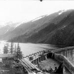 Power Supply Division, Salmon Creek Dam, Oct. 1914
