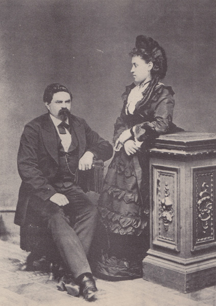 Louis Wollenberg and Fannie Kalischer, Castro Valley, California, 1871