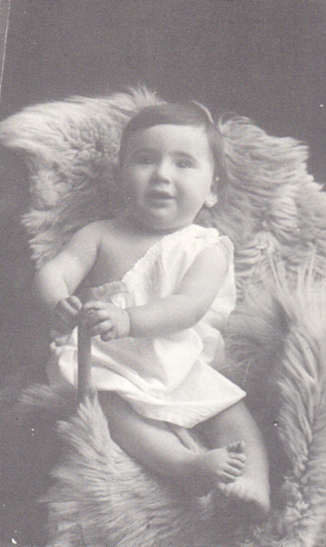 Ludwig Jesselson as a baby, n.d.