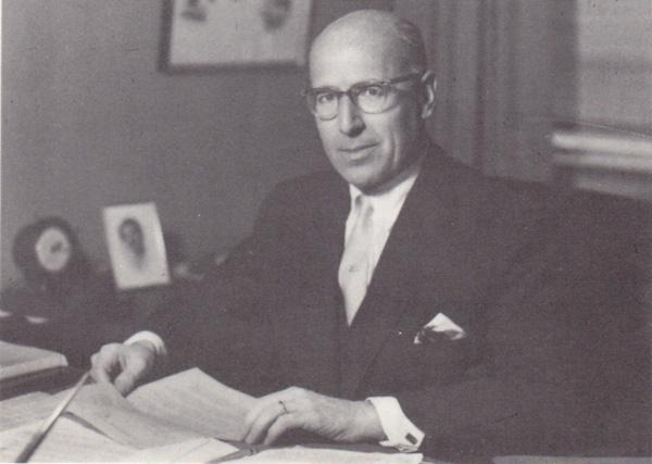 Ludwig Jesselson portrait, n.d.