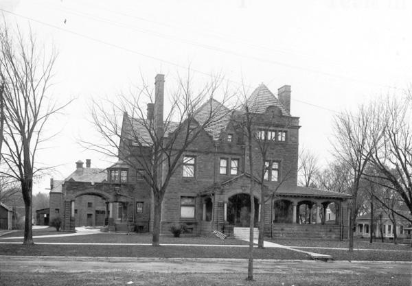 Al Ringling's residence in Baraboo, Wisconsin, 1918