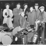 The Simon family in New York en route to San Francisco after fleeing Germany, November 1938