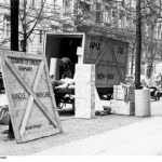 "A ""Jewish family's"" possessions boxed up for shipping to the United States, 1939"