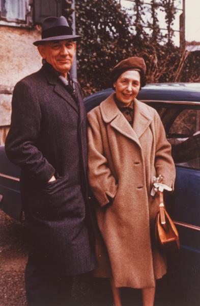 Arnold and Lilli Bernstein, USA, ca. 1965