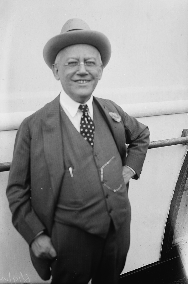 Portrait of Carl Laemmle