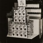 Joy Mixes store display, ca. 1940s
