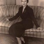Charlotte Cramer Sachs, New York City, ca. 1945
