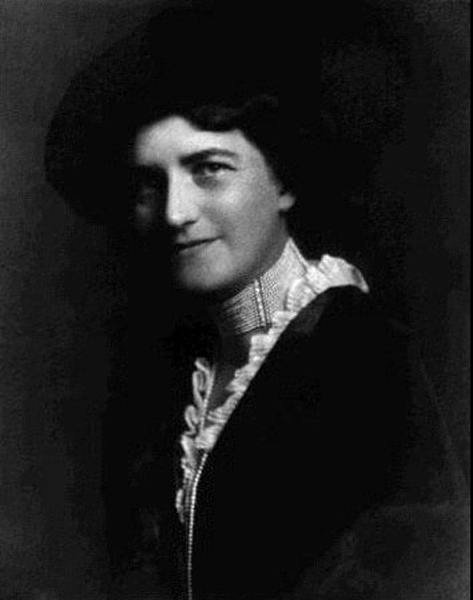 Alice Pfizer, youngest daughter of Charles Pfizer, ca. 1910
