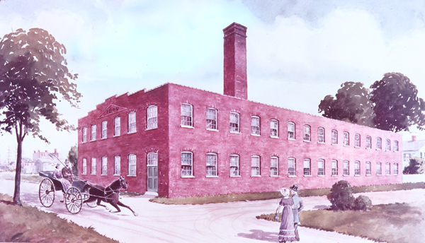 Pfizer Building, Williamsburg-Brooklyn, New York, ca. 1849