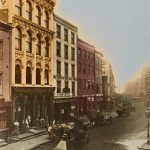 Pfizer offices on Maiden Lane in New York City, ca. 1887