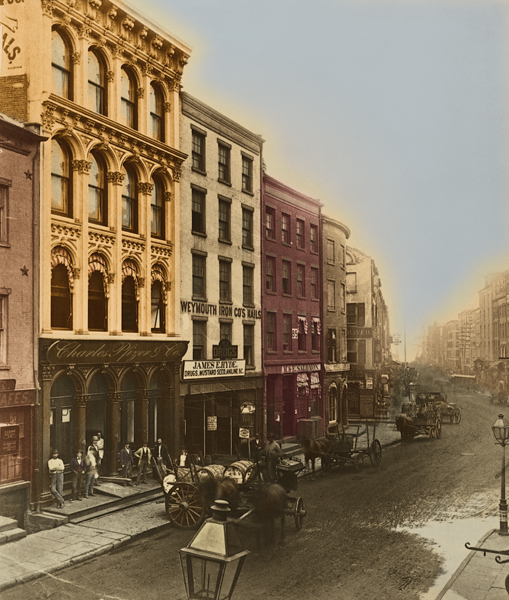 Pfizer Offices On Maiden Lane In New York City Ca 1887 Immigrant Entreprenuership