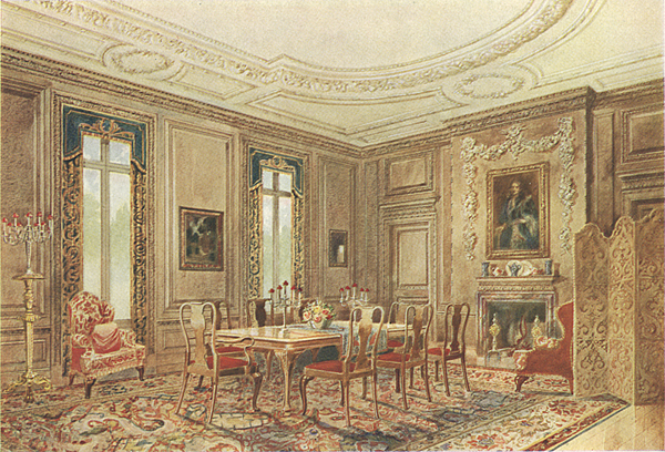 Queen Anne Style Dining Room