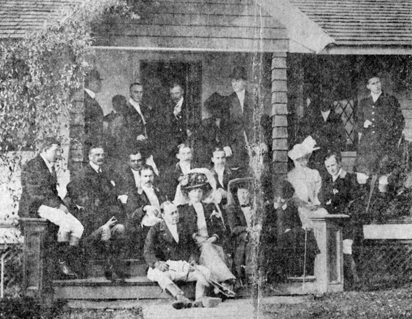 Pfizer and Erhart family gathering, ca. mid-1800s