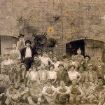 Work force at a Pfizer Brooklyn plant, ca. 1900