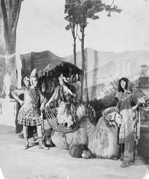 Ben-Hur publicity photo, 1899-1900