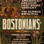 Bostonians (Klaw & Erlanger Light Opera Company), Poster, 1899