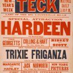 Klaw & Erlanger Advanced Vaudeville Poster, 1908