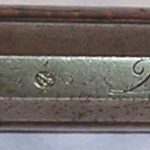 Barrel signature, Jacob Dickert longrifle, ca. 1770s