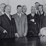 City leaders including Samuel Untermyer meeting to discuss IRT receivership, September 16, 1932