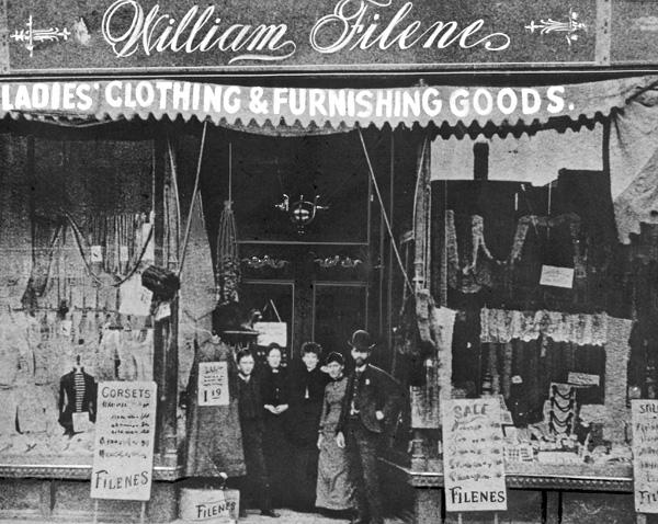 William Filene Storefront, Salem, MA, 1881