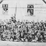 Edward, Rudolph, and Bertram Filene at the Handel's Institute in Segnitz-am-Main, Bavaria, 1875