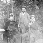 Edward A. Filene and his parents, 1892