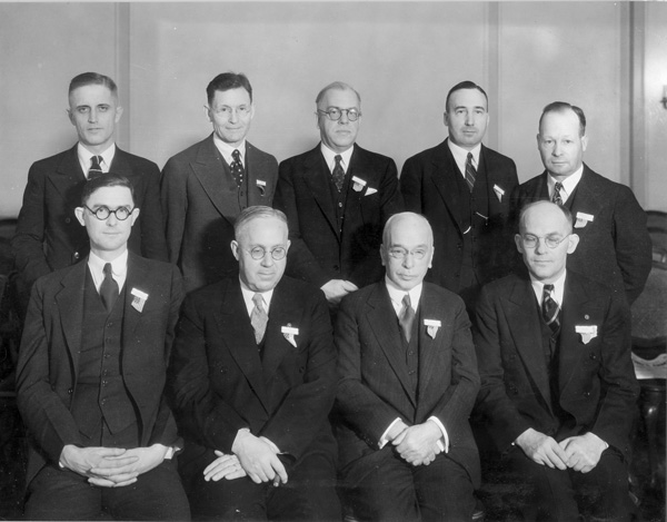 Officers and Executive Committee of the Credit Union National Association, 1935