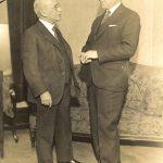 Edward A. Filene and Roy F. Bergengren, 1933