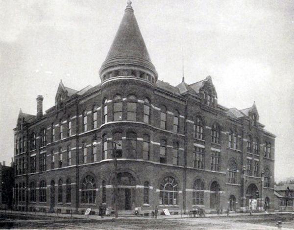 The Turnhalle and Opera House, Davenport, Iowa, ca. 1890