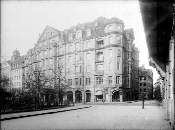 Wünschmanns Hof at Dittrichring 20a, ca. 1920