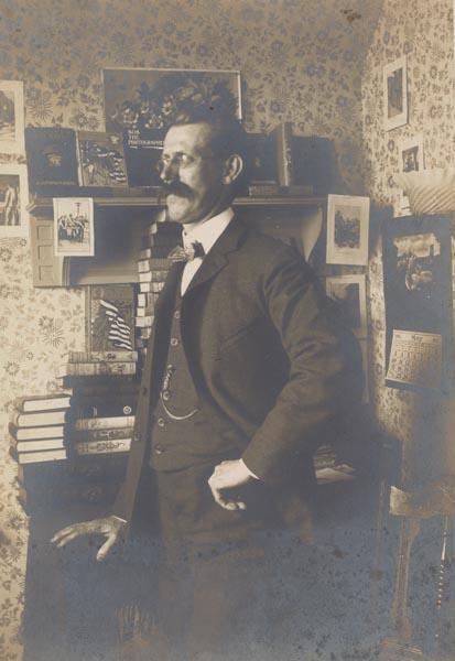 Portrait of Edward Stratemeyer, n.d.