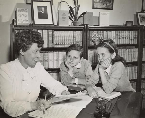 Harriet Stratemeyer Adams with Children, n.d.